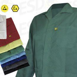 Avental : Jaleco Antiestático ESD Verde