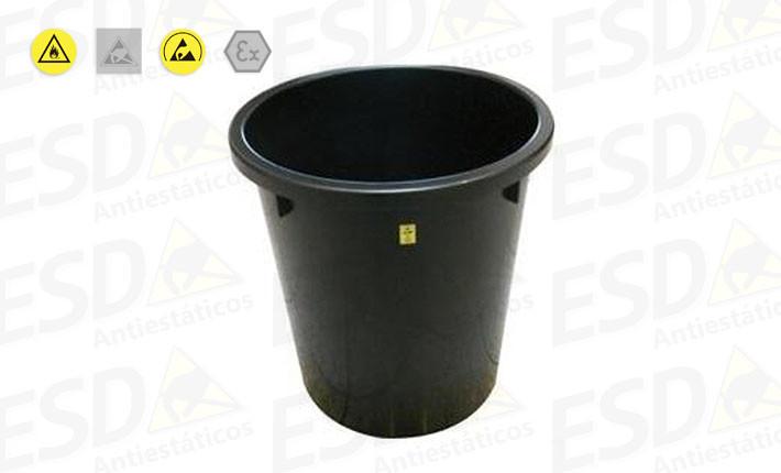 Cesto de Lixo ESD Condutivo 14 Litros