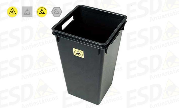 Cesto de Lixo ESD Condutivo 40 Litros