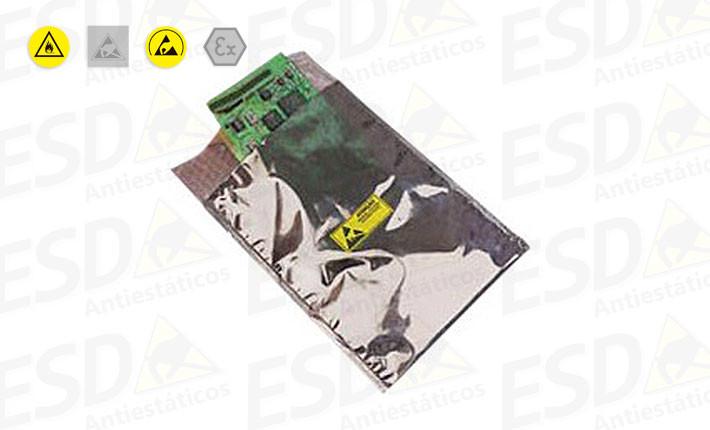 Embalagem ESD Antiestática Bolha + Metalizado