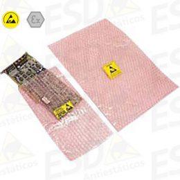 Embalagem ESD Antiestática Bolha Rosa