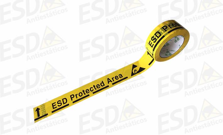 Fita ESD para Demarcação de Piso em Polipropileno