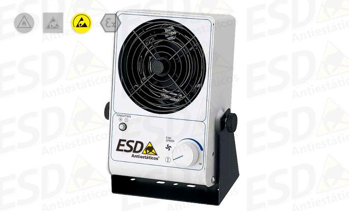Ionizador de Bancada ESD Portátil com suporte