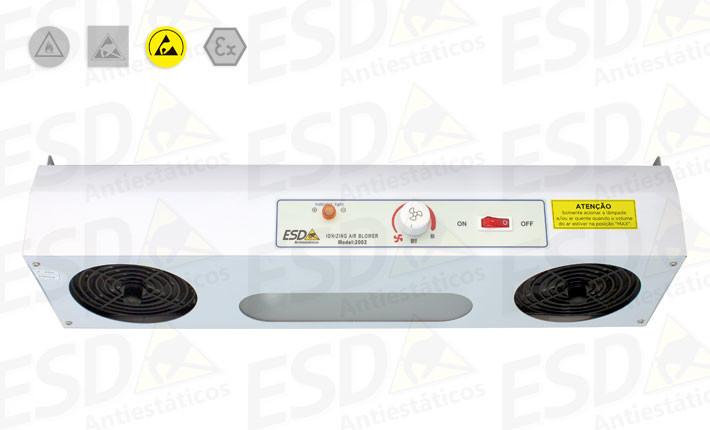 Ionizador de Topo ESD com dois ventiladores