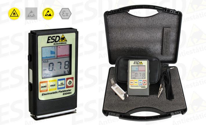 Medidor ESD Digital de Estática