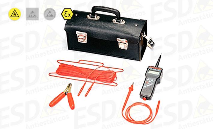 Medidor de aterramento ESD EP4Ex à prova de explosão
