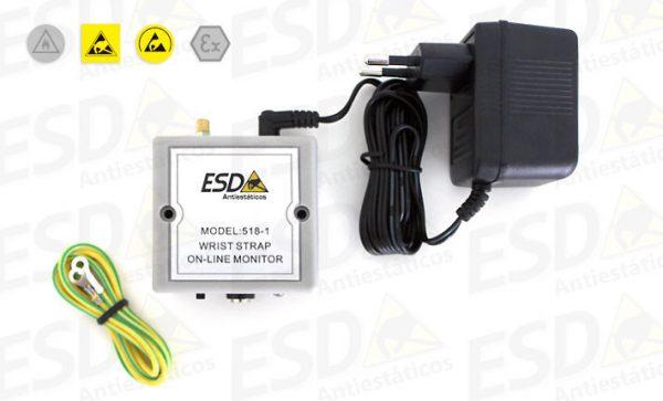 Monitor ESD Contínuo Para 1 Pulseira