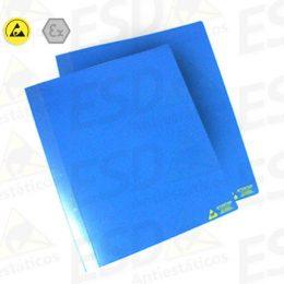 Pasta Fichário ESD Antiestática A4 Azul