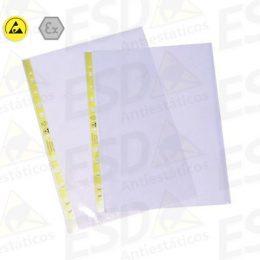 Plástico ESD Antiestático A4