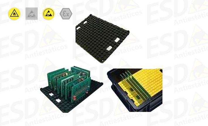 Suporte ESD Condutivo para PCBs