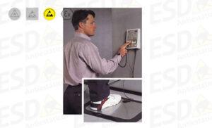 Testador de Pulseiras, Calcanheiras e Calçados ESD 3M