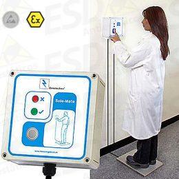 Verificador de Calçados de Segurança ESD para Área de Risco