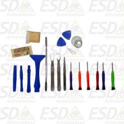 Kit com 25 peças ESD9008